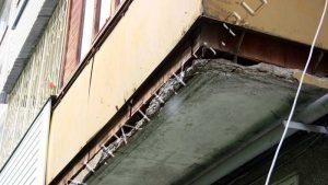 """Восстановление балконных плит - компания """"альпатекс""""."""